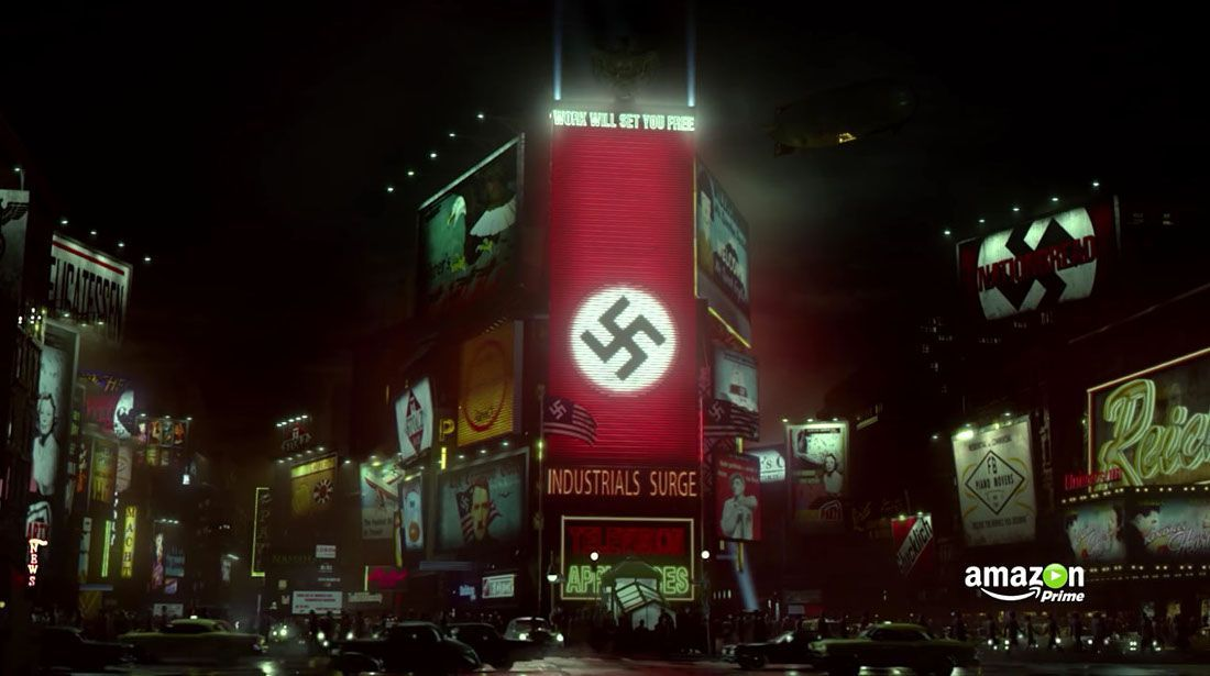 Times Square The man in the high castle Josep M Bunyol Serielizados