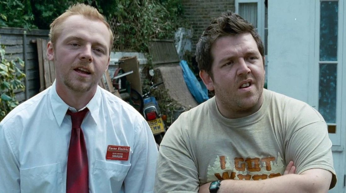 Simon Pegg Nick Frost Truth Seekers Serielizados
