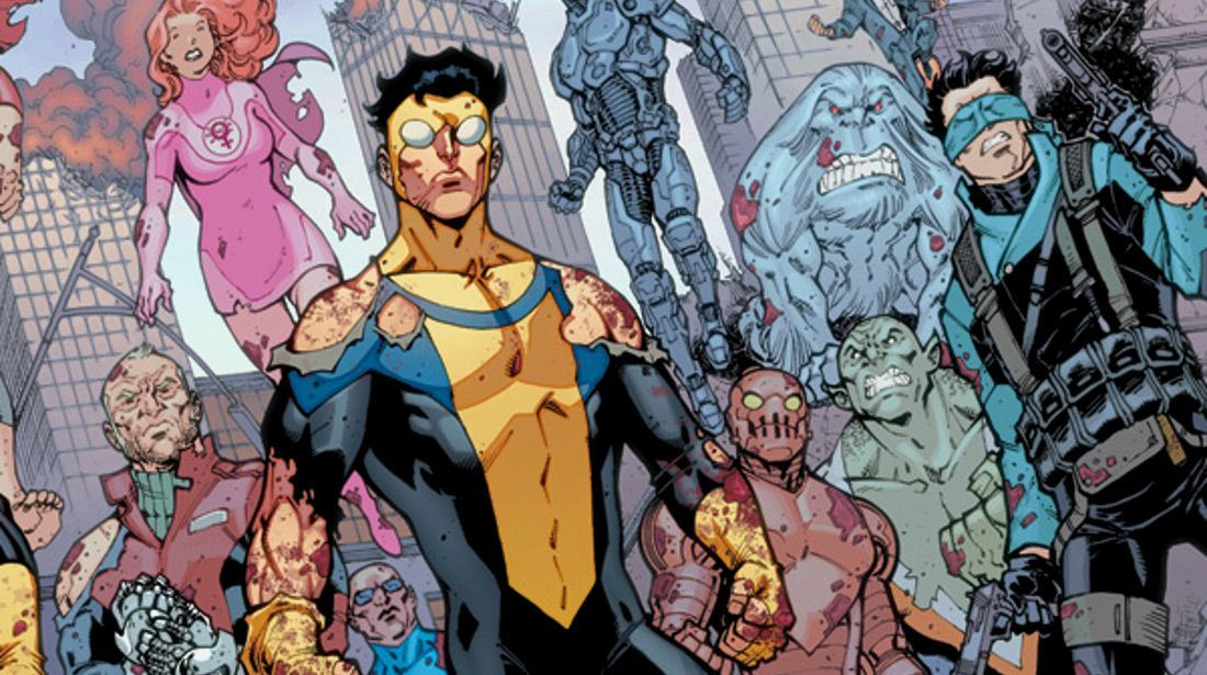invincible comic serielizados